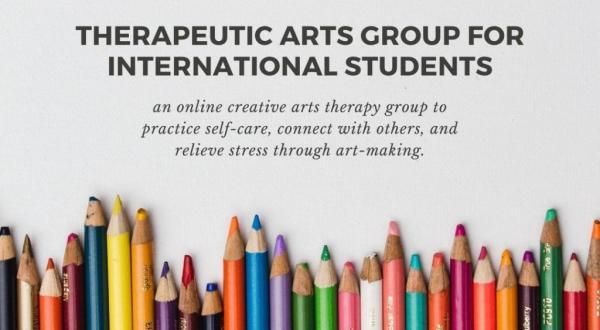 Therapeutic Arts Group for International Students