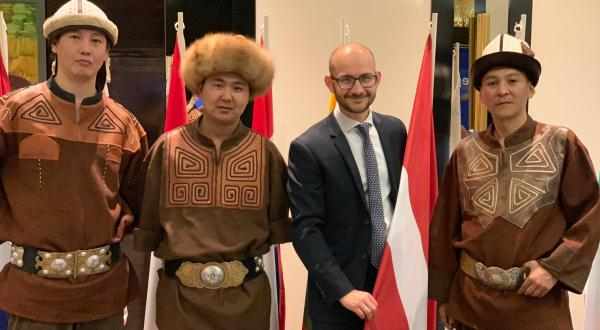 The eyes, ears and mouth of Europe in Central Asia: RSU graduate Raimonds Vingris on his experience in Bishkek