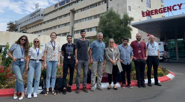 The first RSU study course at the Clinical Training Centre in Israel has concluded