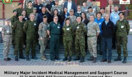 Clinical skills and medical technology teaching staff gain experience in military disaster medicine